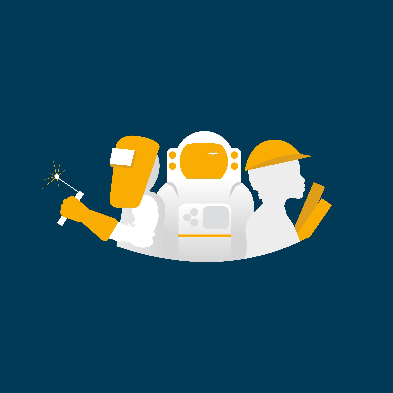 welder, astronaut, engineer