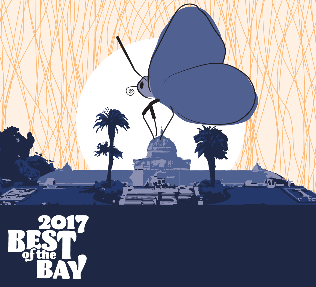 san francisco bay guardian best of the bay 2017 city living | san francisco botanical garden and butterfly
