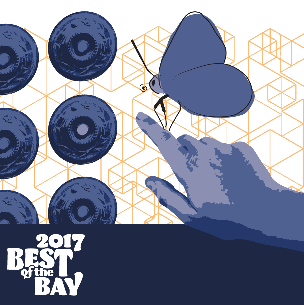 san francisco bay guardian best of the bay 2017 editor's picks | doorbells, hand, and butterfly