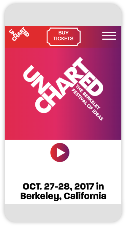 uncharted: the berkely ideas festival | mobile
